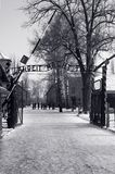 Auschwitz Main Entrance, Poland Stock Photography