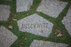 Auschwitz - mehr als gerade ein Name lizenzfreie stockfotos