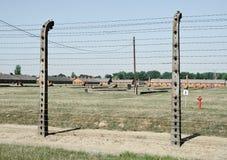 Auschwitz śmiertelny obóz Fotografia Stock