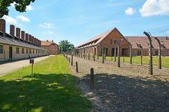 Auschwitz śmiertelny obóz Obrazy Royalty Free