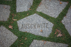 Auschwitz - more than just a name. Royalty Free Stock Photos