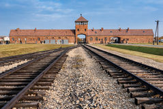 Auschwitz Museum Stock Photo