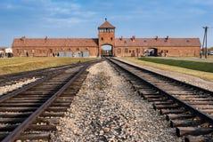 Auschwitz museum Arkivfoto