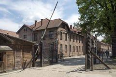 Auschwitz Museum Stock Image