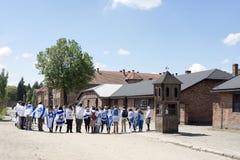 Auschwitz Museum Stock Photos