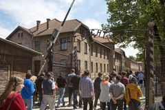Auschwitz Museum Royalty Free Stock Photos