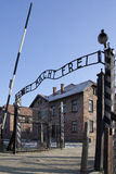 Auschwitz Nazi Concentration Camp - Poland royalty free stock photo