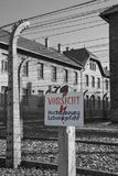 Auschwitz Nazi Concentration Camp - Poland Royalty Free Stock Image