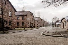 2 Auschwitz obozowy koncentracyjny nazistowski Poland reżimu wojny świat zdjęcia stock