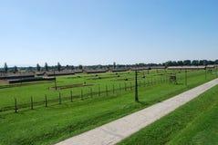 Auschwitz - part BI. Concentration camp Auschwitz - Birkenau in Poland stock photography