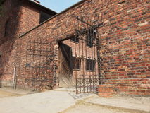 Auschwitz, place of execution Royalty Free Stock Images