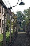 Auschwitz, Polônia Fotografia de Stock Royalty Free
