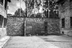 AUSCHWITZ, POLAND - July 11, 2017.Part of Auschwitz Concentratio Royalty Free Stock Photo