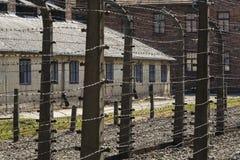 Auschwitz, Polen royalty-vrije stock foto