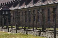 Auschwitz, Polen stock afbeelding