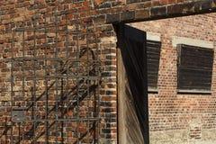 Auschwitz, Polen stock afbeeldingen