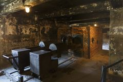 Auschwitz, Polen royalty-vrije stock foto's
