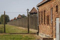 Auschwitz, Polen stock foto's
