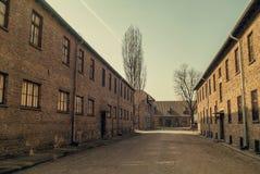 Auschwitz, Polen Stock Fotografie