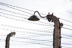 AUSCHWITZ, POLONIA - 11 luglio 2017 Parte del concentrati di Auschwitz Immagini Stock