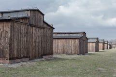 auschwitz, Polska Marzec 12, 2019 koncentracyjnych obozów Śmierć koszaruje Żydowski eksterminacja obóz fotografia royalty free