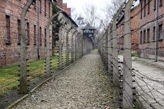 Auschwitz prison Stock Images