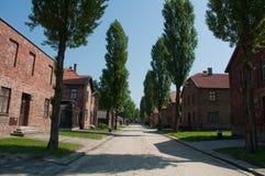 Auschwitz quarters Stock Image
