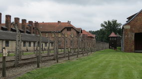 Auschwitz. Scenes from the concentration and extermination camps at Auschwitz in Poland Royalty Free Stock Photos