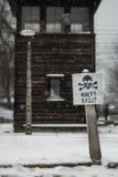 Auschwitz Stock Photo