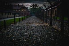 Auschwitz tid Royaltyfri Bild