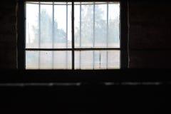 Auschwitz-Vernichtungslager stockbilder