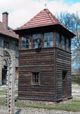 Auschwitz Watchtower 2 Royalty Free Stock Photo