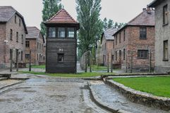 Auschwitz, the worst that ever happened to humanity. The worst that ever happened to humanity royalty free stock photo