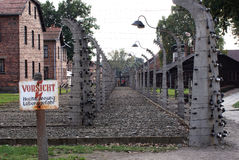 Auschwitz3 Royalty Free Stock Photography