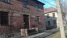 Auschwitzlagerbier Stock Afbeeldingen