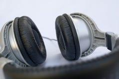 Auscultadores ou fones de ouvido profissionais imagem de stock