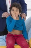 Auscultation Child Stock Images