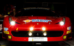 AUSDAUER 24 DES AUTO-STUNDEN RENNEN-- BARCELONA Lizenzfreies Stockbild