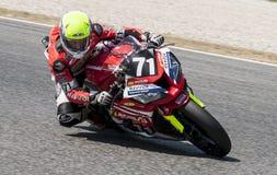 AUSDAUER 24 MOTO-STUNDEN RENNEN-- CATALUNYA Lizenzfreie Stockfotos
