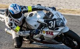AUSDAUER 24 MOTO-STUNDEN RENNEN-- CATALUNYA Stockfoto