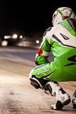 AUSDAUER 24 MOTO-STUNDEN RENNEN-- CATALUNYA Lizenzfreie Stockbilder