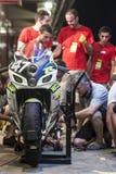 AUSDAUER 24 MOTO-STUNDEN RENNEN-- CATALUNYA Stockfotografie