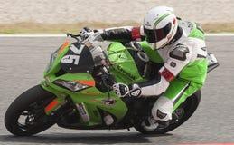 AUSDAUER 24 MOTO-STUNDEN RENNEN-- CATALUNYA Lizenzfreies Stockbild