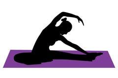 Ausdehnen von Übungen Stockfoto