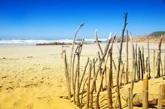 Ausdehnung des Strandes in Knysna, Südafrika Lizenzfreies Stockfoto