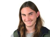 Ausdrücke - Lächeln Lizenzfreies Stockbild