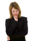 Ausdrucksvolle Frau Lizenzfreie Stockfotos