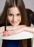 Ausdrucksvolle junge Schönheit. Lizenzfreies Stockbild