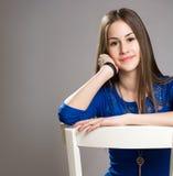 Ausdrucksvolle junge Schönheit. Lizenzfreie Stockfotos