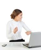 Ausdrucksvolle Reaktion Lizenzfreie Stockfotos
